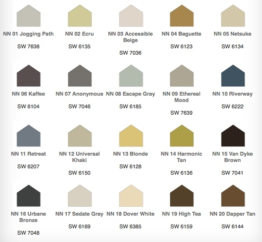 62 best images about sw accessible beige on pinterest for Neutral red paint colors