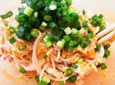 電子レンジ6分 * 豆もやしと鶏ささみのキムチ和え by 庭乃桃 | レシピサイト「Nadia | ナディア」プロの料理を無料で検索