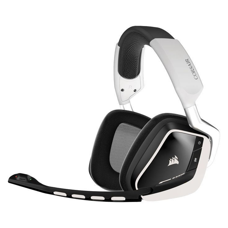 Micro-casque Corsair Gaming VOID RGB Dolby 7.1 Wireless - Edition Blanche Casque-micro 7.1 sans fil pour gamer