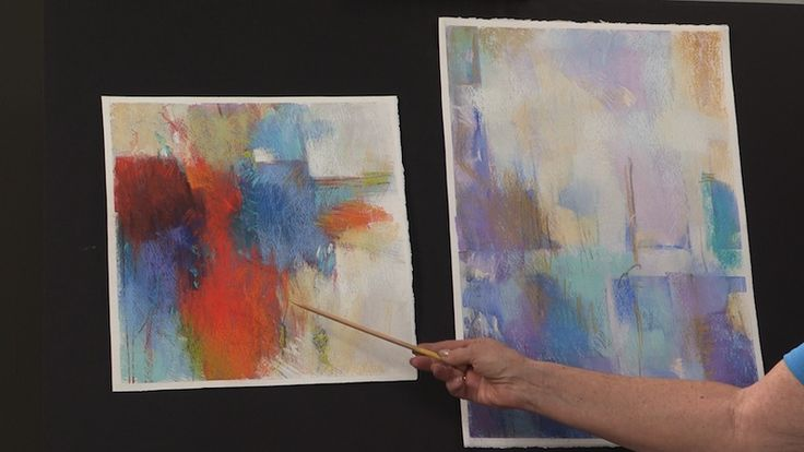 How To Paint Abstract Art In Pastel Composition Amp Color
