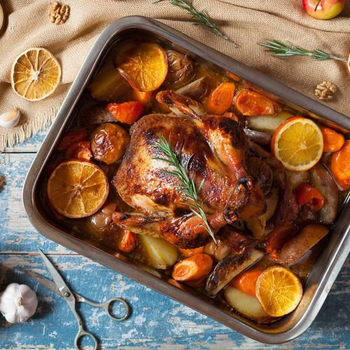 De lekkerste gebraden kip - Amber Albarda