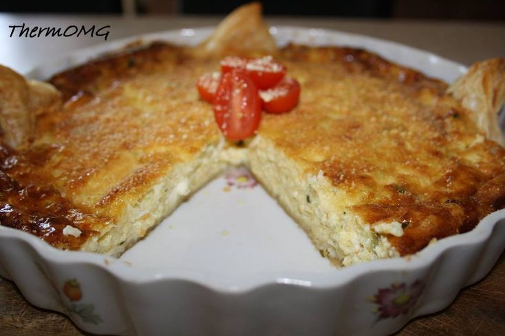 Zucchini and Cheese Quiche (leave pasyry)