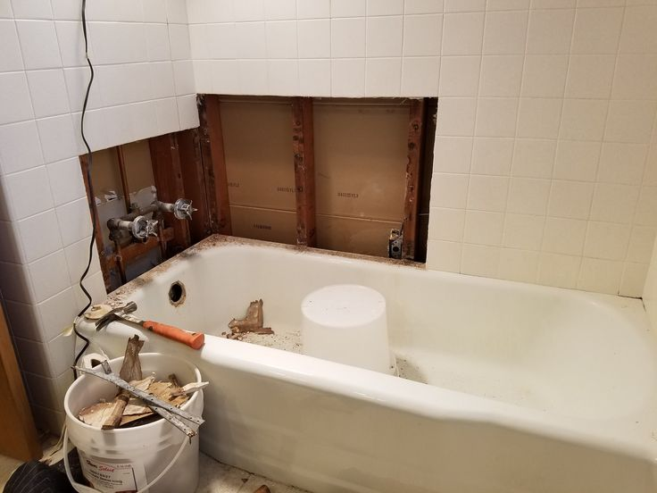 Bathroom Remodel Tub Removal : Best images about bathroom designs on