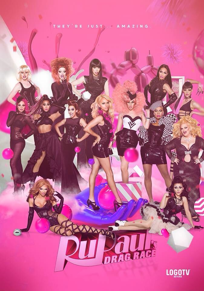 Rupaul's Drag Race Season 6. DON'T judge me folks ! I <3 me some drag queens ! This is the highlight of my Monday nights besides my man candy. LOL ! WERK !