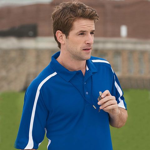 Discover an active line with Russell Athletic S92CFM Team Game Day Mens Polo Shirt