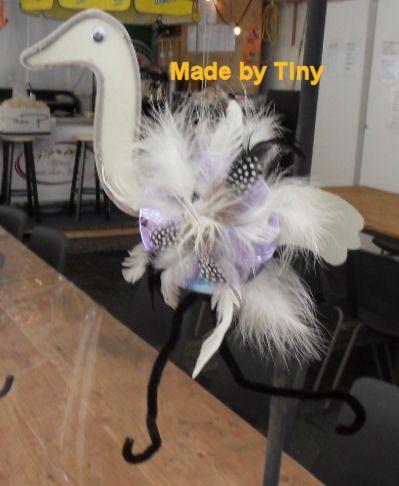 CD Crafts Ostrich