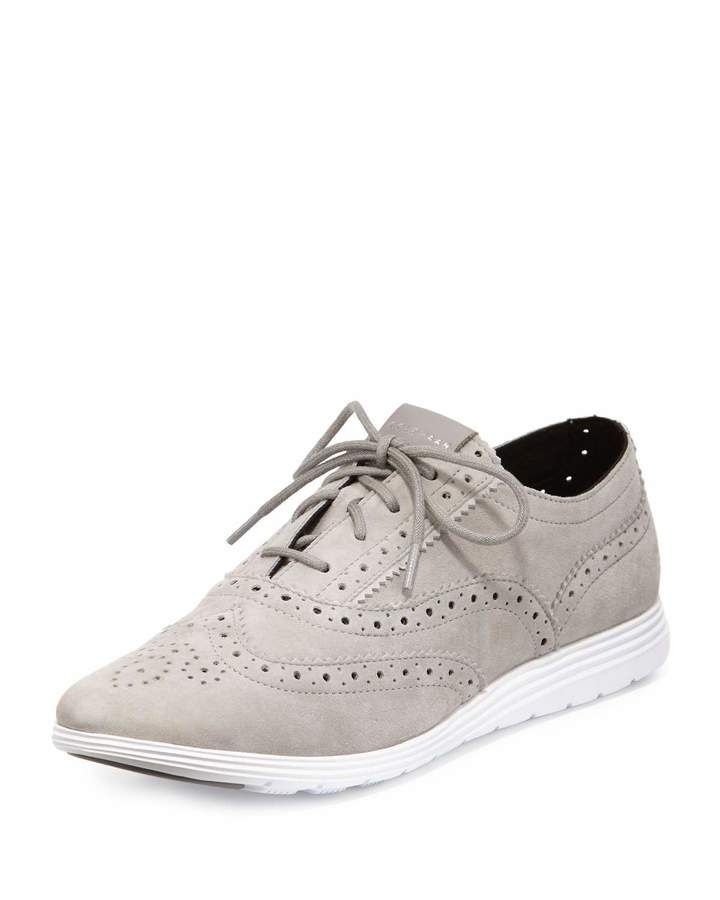 Cole Haan Grand Tour Oxford Sneaker, Light Greystone
