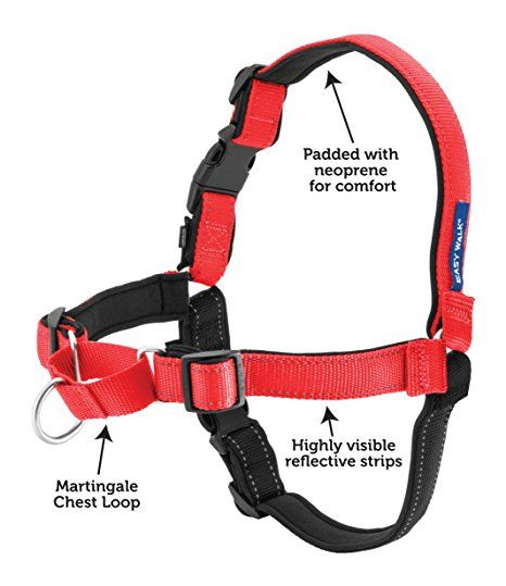 Petsafe Deluxe Easy Walk Harness, Medium, Rose (With