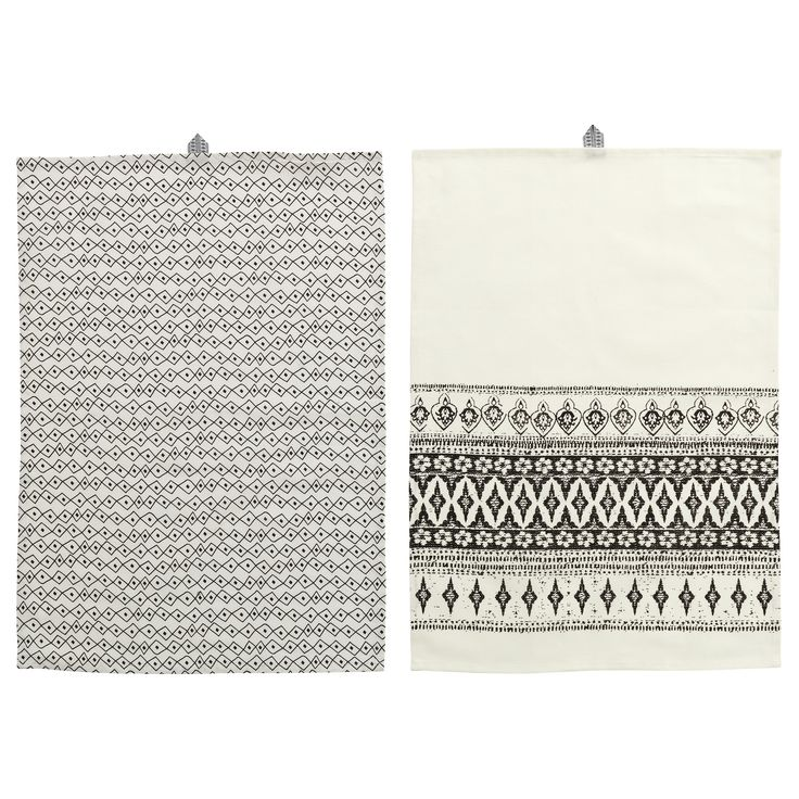 ikea sommar dish towel with loop for hanging for easy storage when