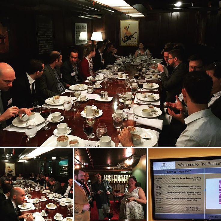 We had a great CIDN networking event at the Brisbane Club because the food is great. @addog_le_one @leodipintorealtor #CIDN #networking