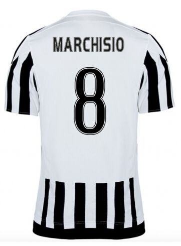 Juventus Jerseys 2015/16 Home Soccer Shirt #8 MARCHISIO