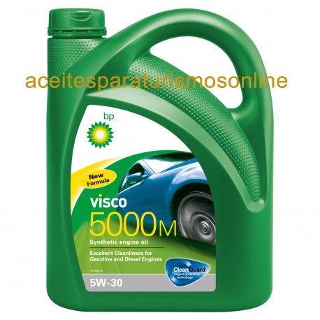 ACEITE COCHE BP VISCO 5000M 5W30 4L. Visita la web aceitecochemotor.es en MADRID. Envíos a toda España.