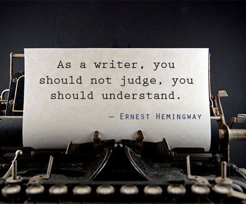 "ernest hemingway style of writing The ways of ernest hemingway ernest hemingway once said, ""there is nothing to writing all you do is sit down at a typewriter and bleed"" (toor 23."