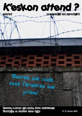 K'eskon attend, n° 11, fév. 2009, collège de Châtellerault, acad. de Poitiers