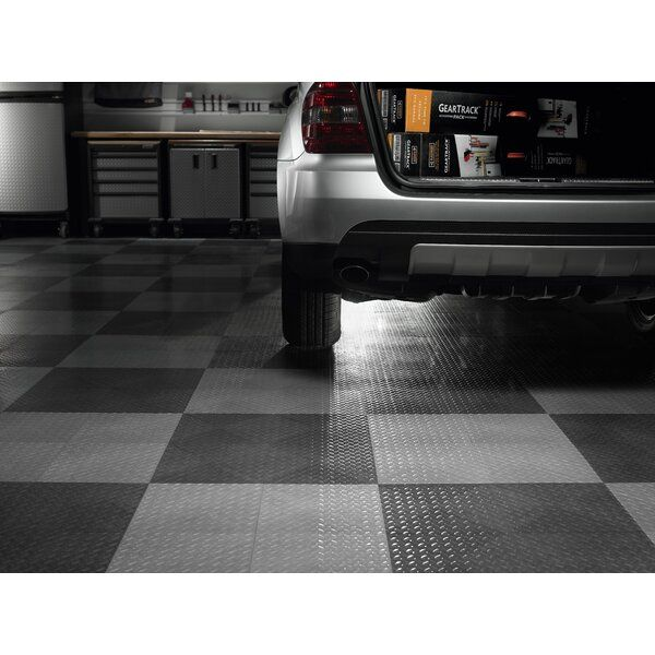 Concrete Floor Mat Garage Protection For Under Car Polyvinyl Black Diamond Best Concrete Floors Floor Mats Black Diamond