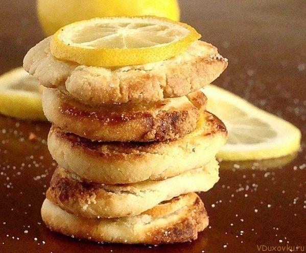 Веганское лимонное печенье / Веганские и вегетарианские рецепты