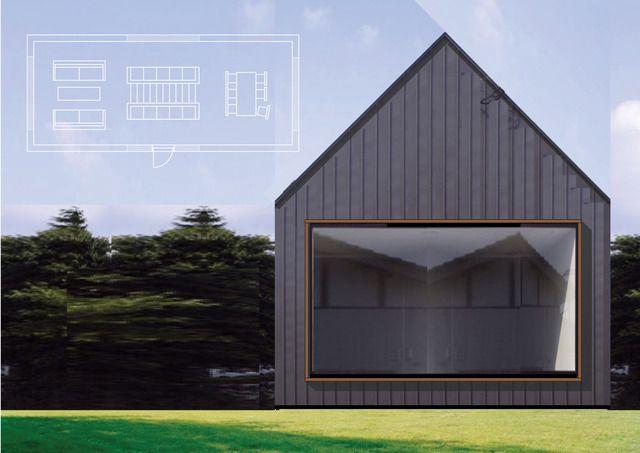 .: Three Norwegian, Norwegian Cabins, Small Houses, Xxxxx