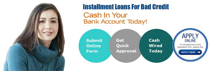 Assisting with installment loans for bad credit can be used to aid build credit for people with not good credit history.