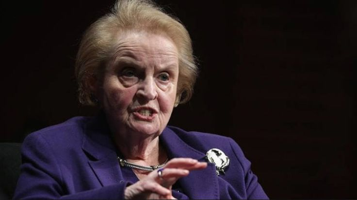 Bývalá americká ministryně zahraničí Madeleine Albrightová uvedl, že je připraven přijmout islám v reakci...