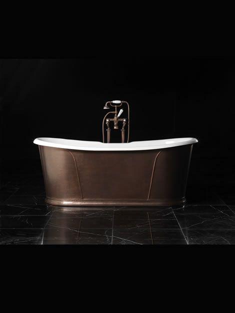Devon&Devon » Bathroom Furniture – Products Catalogue – Edition 2012 and Preview 2013 » Camelot Rame Antico - lavish the bath gallery-la jolla, ca