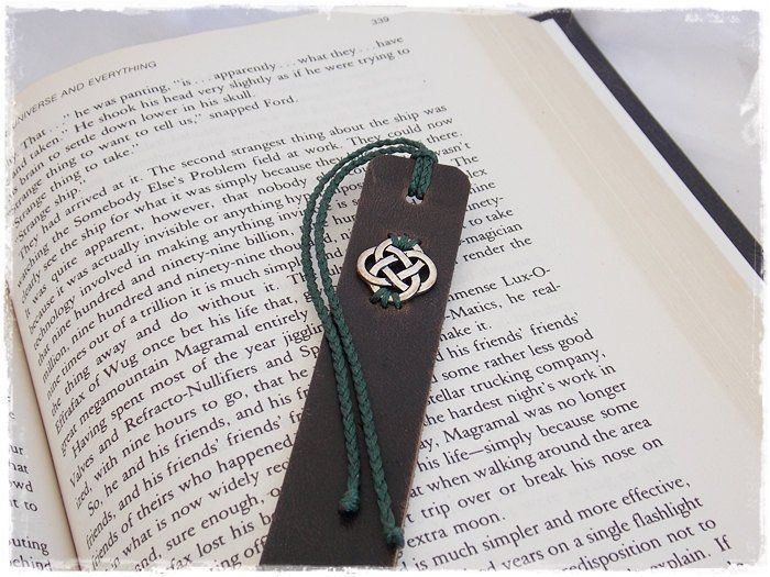 Celtic Love Knot Bookmark, 3rd Anniversary Gift