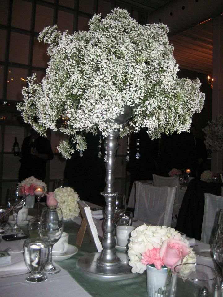 Harlow thistle diy wedding centerpieces candlesticks