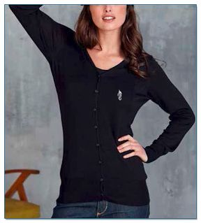 SeaHorse-Collection, women's buttoned cardigan, 59,99€