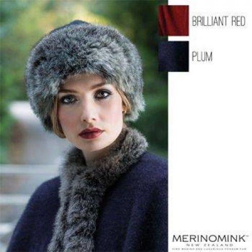 Merinomink Fur Hat