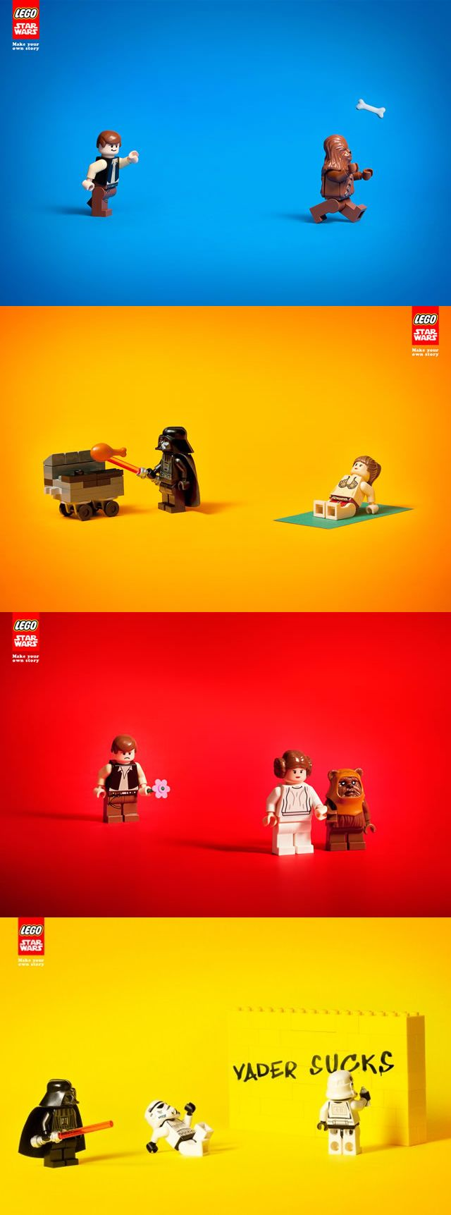 LEGO Star Wars Ads