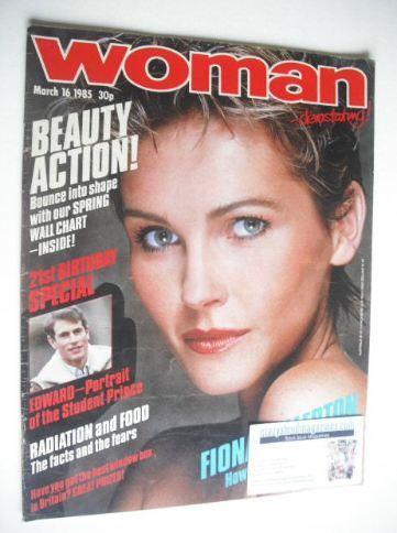 March 1985 Fiona Fullerton