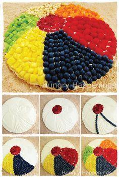Fruit beach ball!