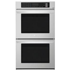 LG Electronics 30 in. Double Electric Wall Oven with ProBake Convection and EasyClean in Black Stainless Steel LWD3063BD at The Home Depot - Mobile