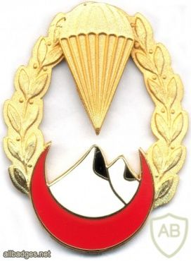 ALGERIA 4th Para-Commando Regt (4 RPC) Breast insignia, BOMISA MILANO, 1962