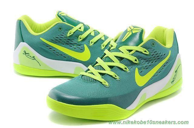 "Green 653972-621 ""Green"" Nike Kobe 9 Low EM For Cheap"