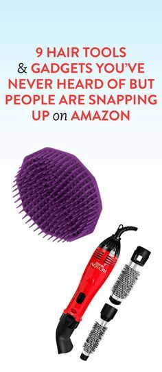 You've never heard of these hair products, but they are some of the best selling hair tools on Amazon!