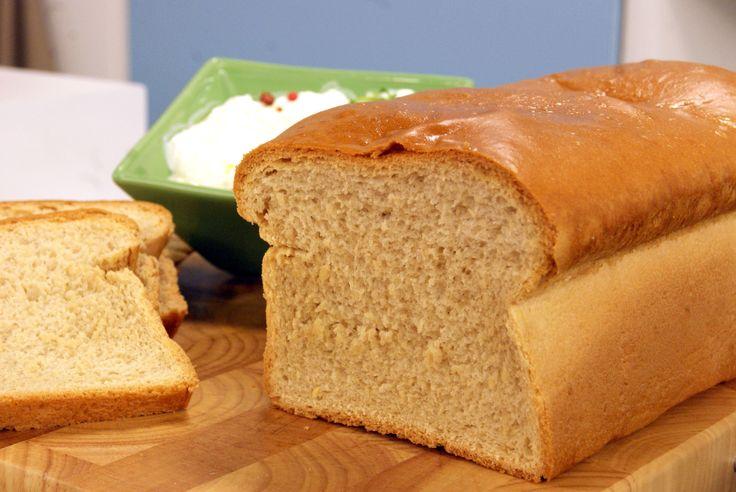 Pão de Forma Caseiro   Receitas   Dia Dia