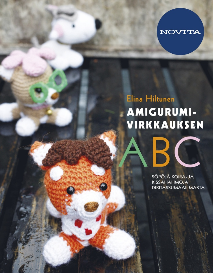 My book about amigurumi crocheting