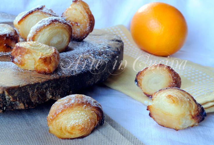 Girelle veloci all'arancia dolcetto sfizioso vickyart arte in cucina