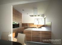 Projekty domów LK Projekt LK&674    wnętrze 4