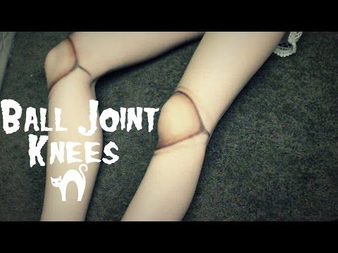 DIY BALL JOINT DOLL TIGHTS (BJD TIGHTS)!!! - YouTube