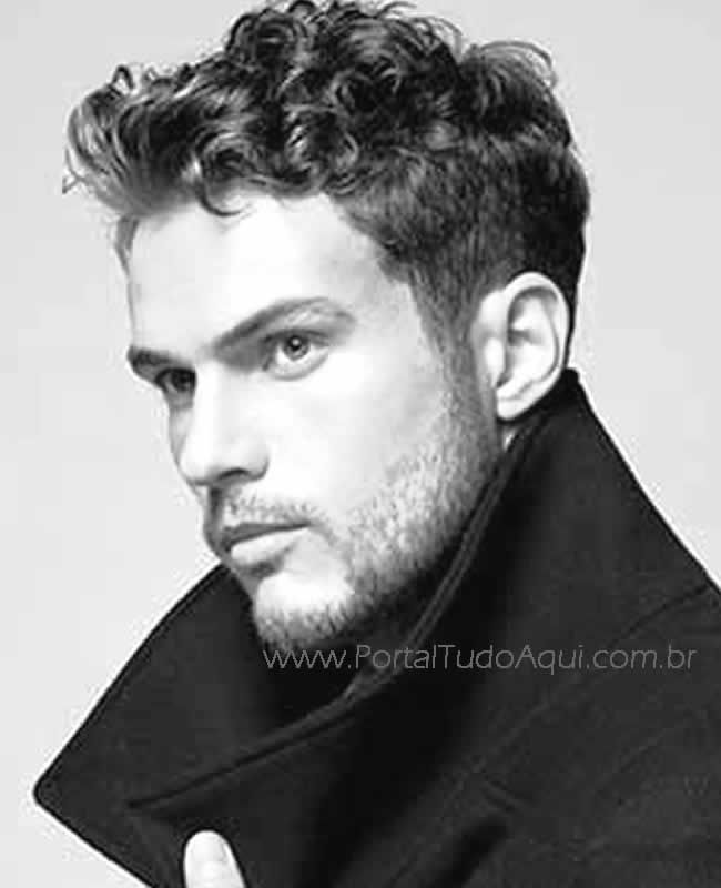 men's haircut curly - Google Search