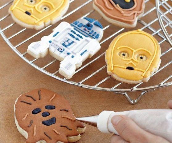 Star Wars Cookie Cutters - https://interwebs.store/star-wars-cookie-cutters/ #KitchenCooking