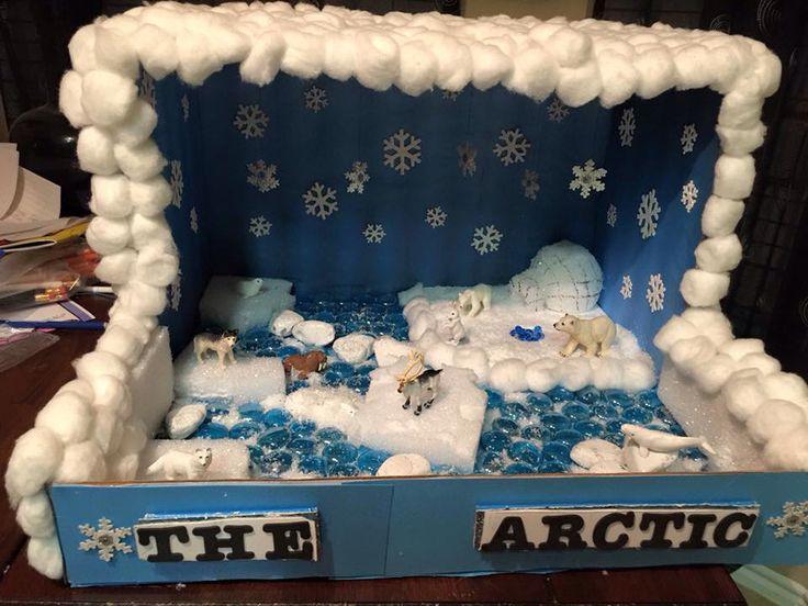 Science diorama - The Arctic
