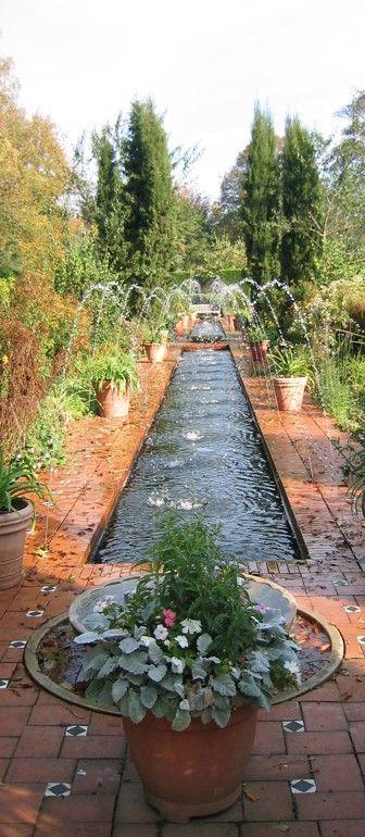 Alhambra Garden at Roundhay Park in Leeds, England | Landscape Backyard, Sideyard & Garden ...