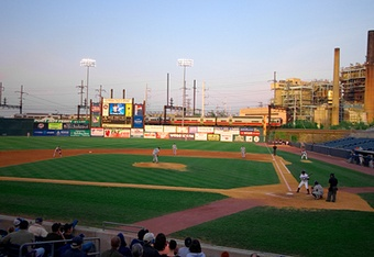 The Ballpark at Harbor Yard (Bridgeport Bluefish)
