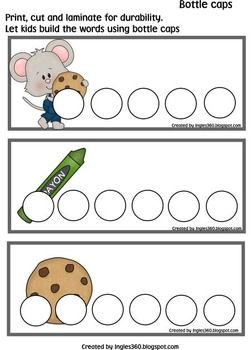 If you Give a Mouse a Cookie - Bottle Caps & Cards
