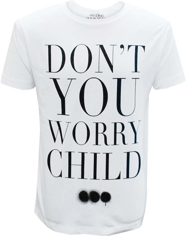DYWC Mens T-Shirt (White)