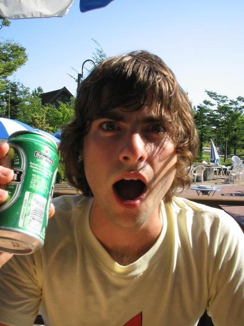 Robert Schwartzman.  I've seriously had a crush on him since I was about 12.