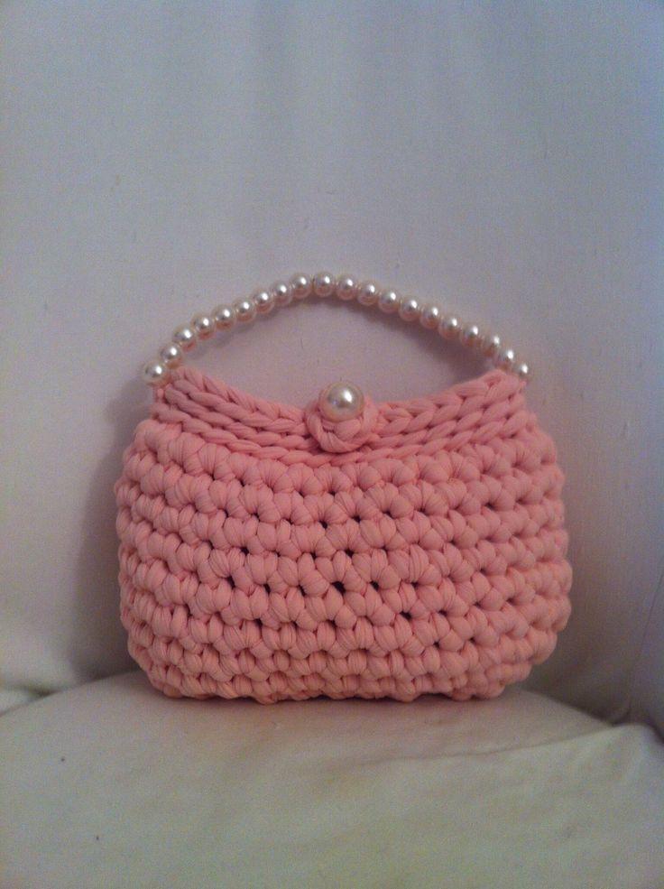 Pink bag fettuccia