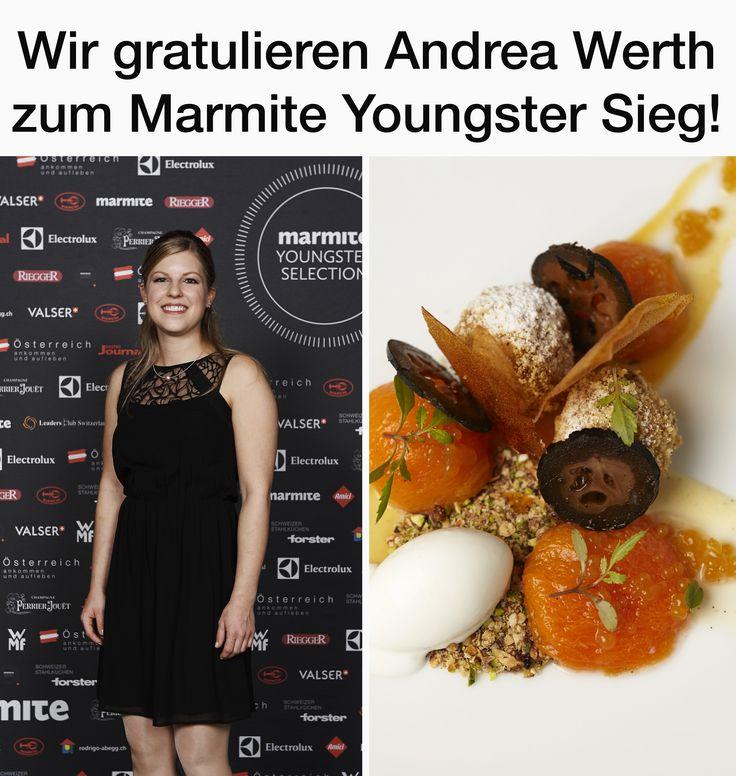 Wir gratulieren Andrea Werth zum #MarmiteYoungster Titel 2015